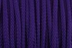 Braided Cord - Polyester - 4mm diameter - Purple (per metre)