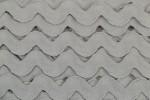Ric Rac - Polyester - 22mm wide - Grey (per metre)