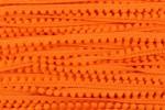 Pom Pom Trim - 7mm - Orange (per metre)