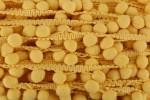Pom Pom Trim - 20mm - Yellow (per metre)