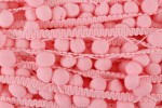 Pom Pom Trim - 20mm - Light Pink (per metre)