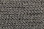 Gimped Braid - 15mm wide - Grey (per metre)