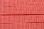 Webbing - Cotton Acrylic - 30mm wide - Coral (per metre)