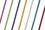 Braided Cord - Cotton Acrylic - 4mm diameter (per metre)