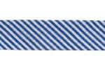 Bias Binding - Cotton - 20mm wide - Navy Stripes (per metre)