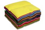 Wool Felt Sheet - 1.5mm - 22x22cm - Assorted (pack of  50)