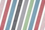 Bowtique Gingham Ribbon - 15mm wide (5m  reel)