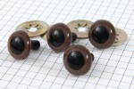 Safety Eyes, Brown, 15mm (pack of 4)