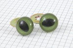 Cat Safety Eyes, Green, 18mm (pack of 2)