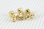 Trimits 10mm Gold Jingle Bells (Pack of 9)