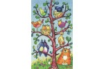 Heritage Crafts - Birds of a Feather - Bird Watching (Cross Stitch Kit)