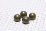 Round Half Ball Buttons, Bronze, 11.25mm (pack of 4)