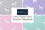 John Louden - Cotton Poplin Prints - Unicorn Meadow