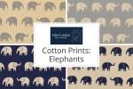John Louden - Cotton Prints - Elephants