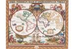Janlynn - Olde World Map (Cross Stitch Kit)