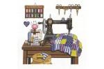 Janlynn - Antique Sewing Room (Cross Stitch Kit)