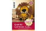 Decracraft Felt Craft Kit - Lorenzo the Lion