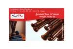 KnitPro Single Point Knitting Needles - Symfonie Wood - 40cm Set of 8