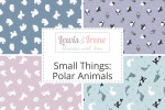 Lewis and Irene - Small Things Polar Animals Collection