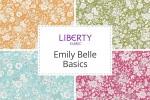 Liberty Fabrics - Emily Belle Basics Collection
