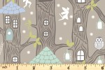 Lewis and Irene - Fairy Lights - Fairy Houses - Natural with Glow-in-the-Dark (A306.2)