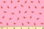 Lewis and Irene - Maya - Boho Hearts - Pink (A386.1)