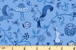 Lewis and Irene - Tea Time - Tea Time - Pale Indigo (A423.2)