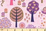 Lewis and Irene - Flower Child - Groovy Forest - Pink (A434.1)