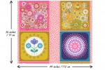 Lewis and Irene - Flower Child - Cushions Panel (A503)