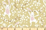 Lewis and Irene - Bunny Hop - Swinging Bunnies - Spring Yellow (A526.2)
