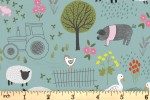 Lewis and Irene - Piggy Tales - Farmyard - Duck Egg (A531.3)