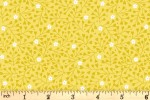 Lewis and Irene - Spring Treats - Mini Heart Floral - Yellow (A589.2)