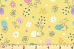 Lewis and Irene - Spring Treats - Chicks and Bunnies - Yellow (A590.3)