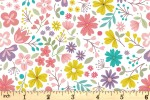 Lewis and Irene - Spring Treats - Spring Floral - Cream (A592.1)