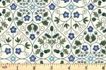 Liberty Fabrics - The Orchard Garden - Garden Gates - Blue (04775630/X)