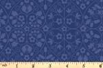 Liberty Fabrics - The Orchard Garden - Gated Shadow - Blue (04775636/X)