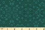 Liberty Fabrics - The Orchard Garden - Gated Shadow - Forest Green (04775636/Z)