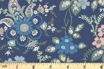 Liberty Fabrics - Hesketh House - Fireside - Blue (04775651/X)