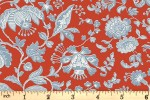 Liberty Fabrics - The Summer House - Victoria Floral - Red (04775669/Y)