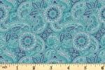 Liberty Fabrics - The Emporium - Paisley Meadow - Blue (04775913/A)