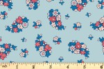 Liberty Fabrics - Carnaby - Portobello Paisley - Reds and Blues (04775942/A)