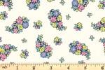 Liberty Fabrics - Carnaby - Portobello Paisley - Pastels (04775942/C)