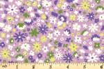 Liberty Fabrics - Carnaby - Bloomsbury Blossom - Lilac (04775949/B)