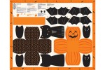 Moda - Ghouls and Goodies - Trick or Treat Bag Panel (20680-11)