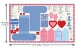 Moda - Be Mine - Postbox Panel (20710-11P)