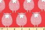 Moda - Farm Charm - Black Sheep - Rooster Red (48291-14)