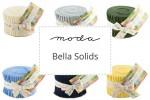 "Moda - Bella Solids - Junior Jelly Rolls (2.5"" strips)"