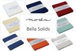 "Moda - Bella Solids - Charm Packs (5"" squares)"