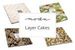 "Moda - Layer Cakes (10 squares)"""