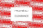Moda - Clearance